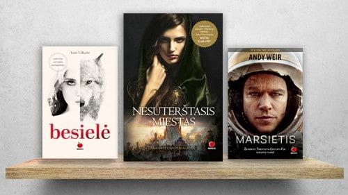 FANTASTIKA: knygos, kurios nukels į kitus pasaulius