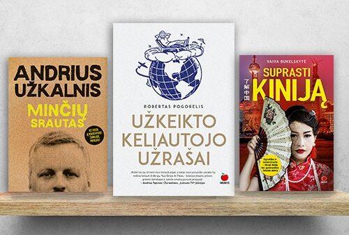 KELIONĖS: leiskitės į žygį aplink pasaulį su knyga rankose