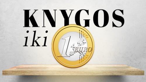 KNYGOS IKI 1 EURO