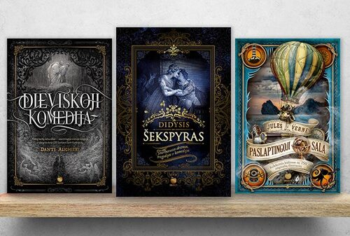 AUKSINIS OBUOLYS: kolekcinės riboto tiražo knygos