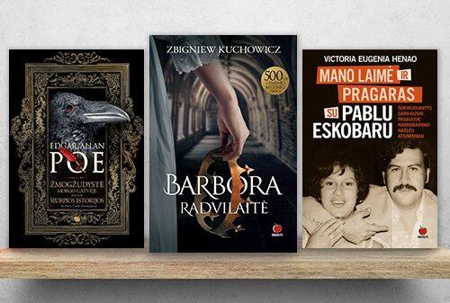BESTSELERIAI: perkamiausios ir populiariausios knygos
