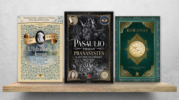 DVASINIS TOBULĖJIMAS: knygos, kurios keičia gyvenimą
