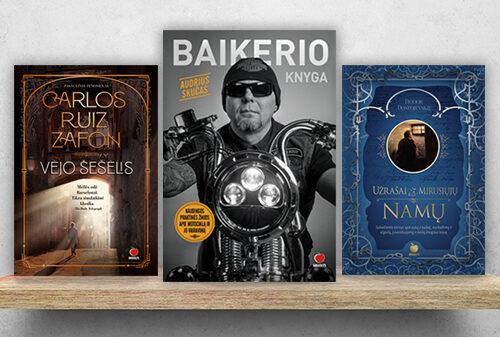 NAUJIENOS: šios knygos ką tik pasirodė lietuviškai!